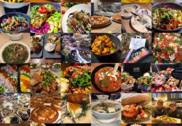 Eri aterioita Kauppahallissa